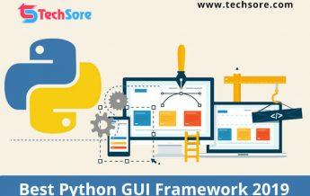 Best Python GUI Framework 2019.