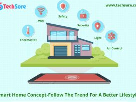 Smart Home Concept-Follow the Trend For A Better Lifestyle