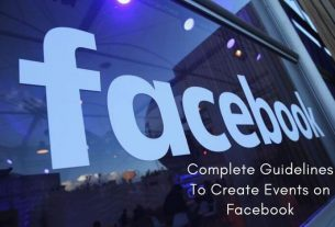 Complete Guidelines to Create Events on Facebook