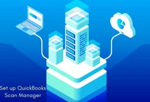 Set up QuickBooks Scan Manager