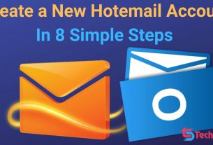 Create a New Hotemail Account In 8 Simple Steps