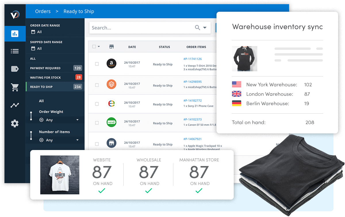 Veeqo WooCommerce Order And Inventory Management