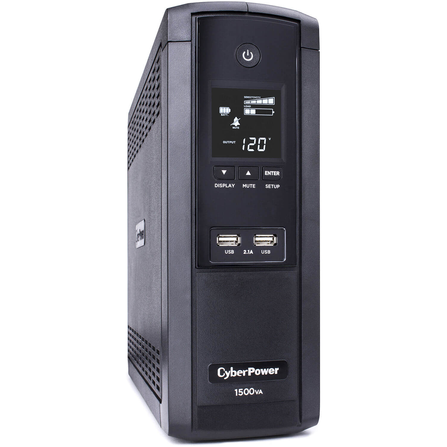 CyberPower BRG1500AVRLCD Intelligent LCD