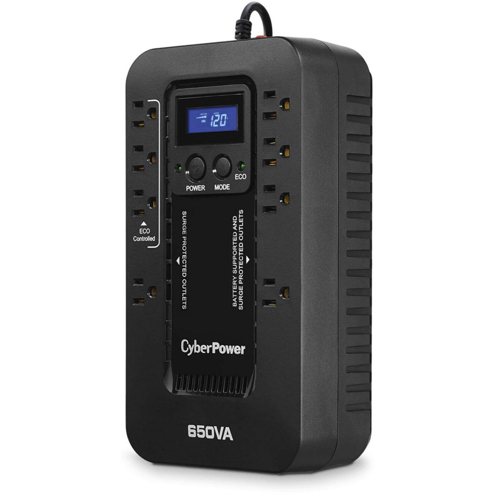 CyberPower EC650LCD Ecologic UPS System